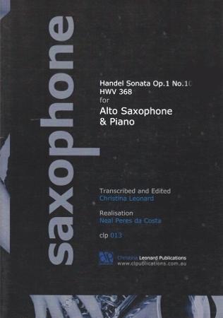SONATA Op.1 No.1