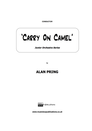 CARRY ON CAMEL (score & parts)