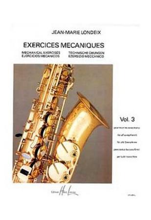 EXERCISES MECHANIQUES Volume 3