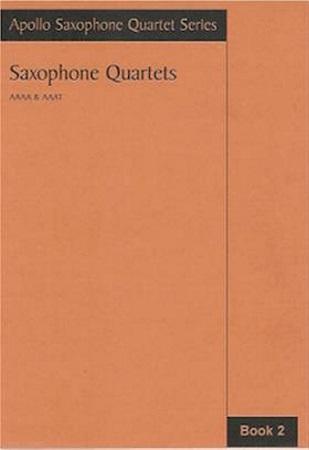 SAXOPHONE QUARTETS Book 2