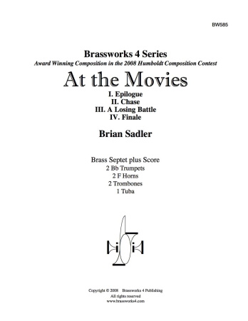 AT THE MOVIES (score & parts)