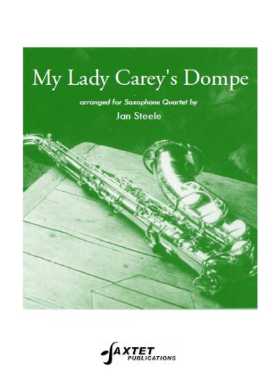 MY LADY CAREY'S DOMPE score & parts