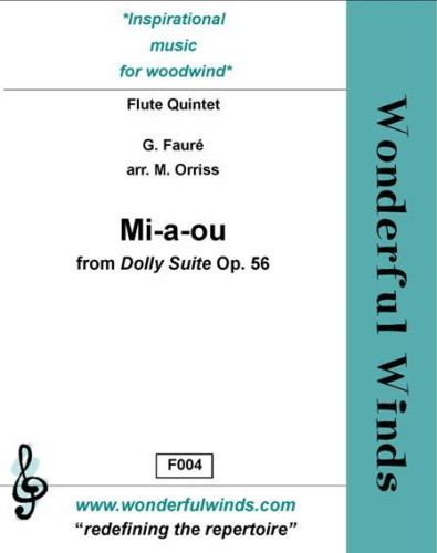 MI-A-OU from Dolly Suite Op. 56
