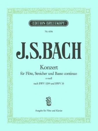 CONCERTO in E minor (BWV 1059 & BWV 35)