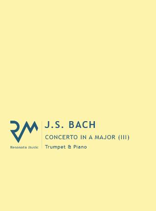 CONCERTO in A Major: III. Allegro (BWV 1055)