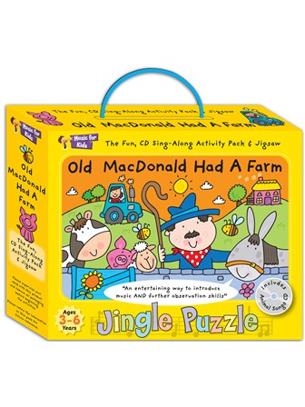 JINGLE PUZZLE Old Macdonald Had A Farm
