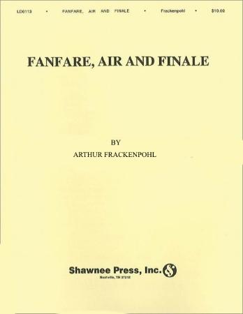 FANFARE, AIR & FINALE (score & parts)