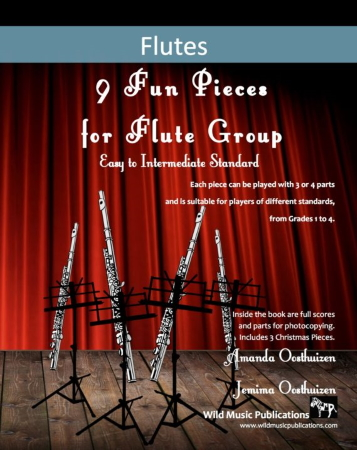 9 FUN PIECES FOR FLUTE GROUP