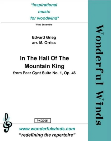 IN THE HALL OF THE MOUNTAIN KING score & parts