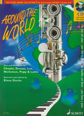 ELENA DURAN COLLECTION No.2 Volume 3 + CD Around the World