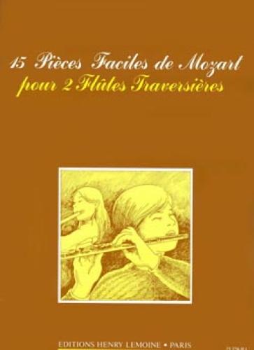 15 PIECES FACILES DE MOZART