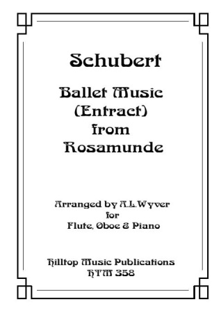 BALLET MUSIC from 'Rosamunde'