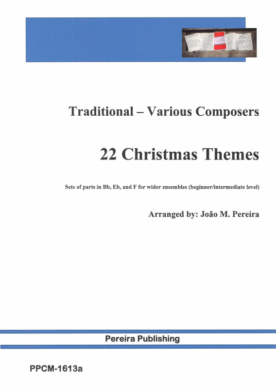22 CHRISTMAS THEMES (Bb, Eb & F instruments)