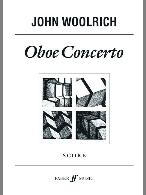 OBOE CONCERTO score only (parts on hire from Faber)