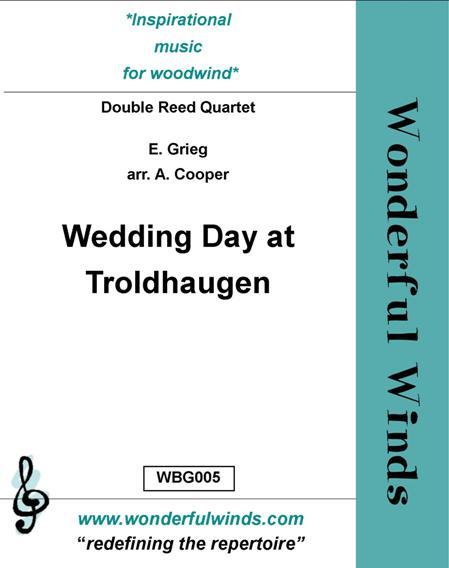 WEDDING DAY AT TROLDHAUGEN score & parts