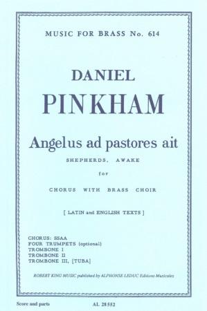 ANGELUS AD PASTORES (score & brass parts)