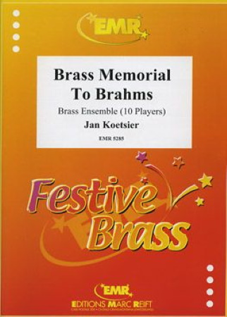 BRASS MEMORIAL TO BRAHMS