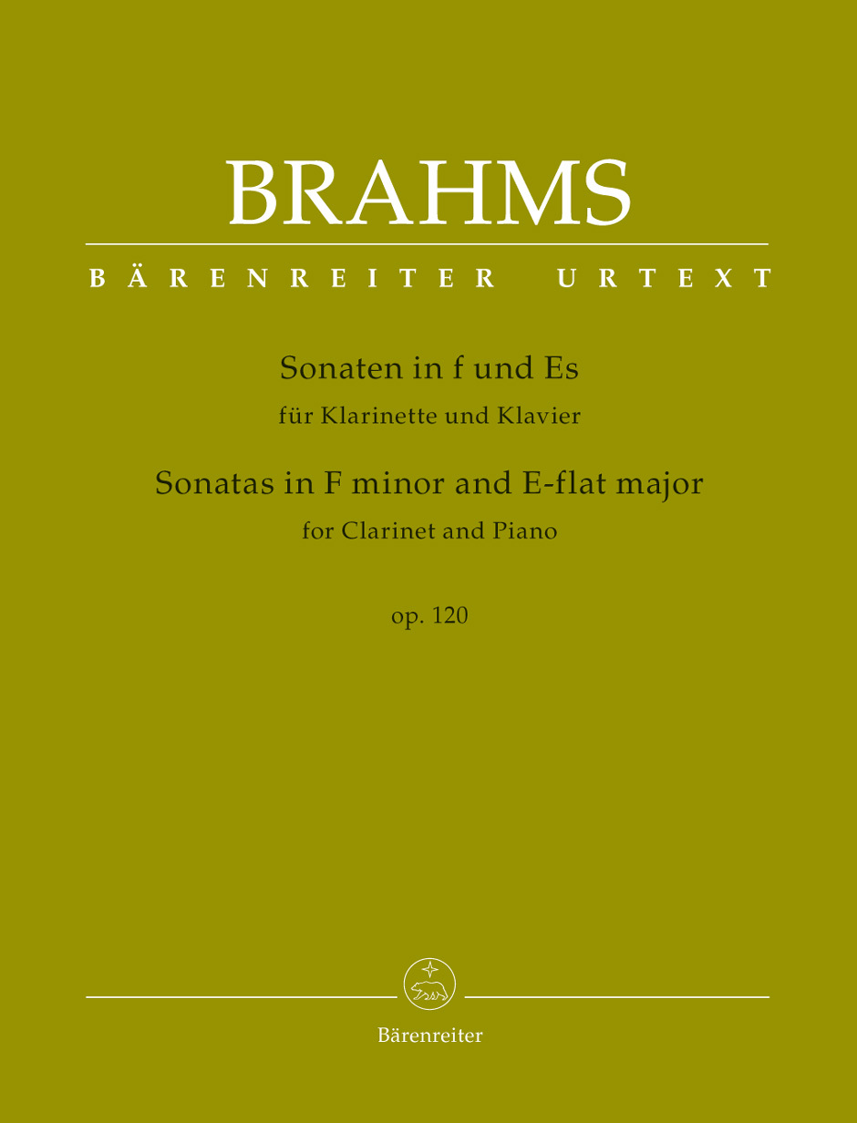 TWO SONATAS Op.120