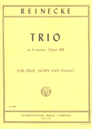 TRIO in A minor, Op.188