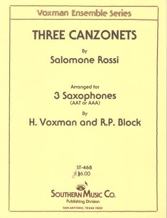 THREE CANZONETS