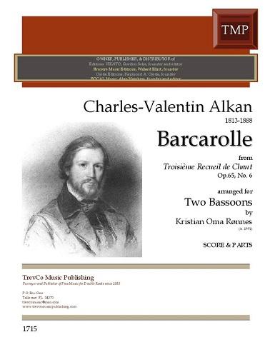 BARCAROLLE Op.65 No.6