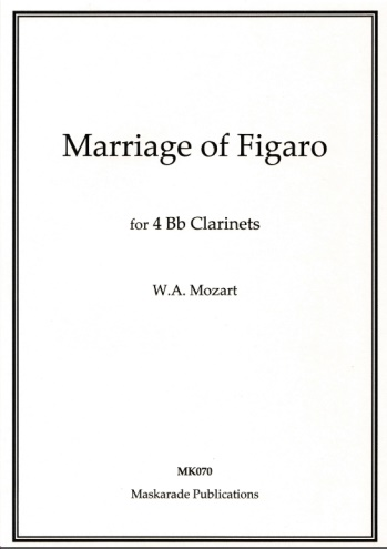 THE MARRIAGE OF FIGARO (score & parts)