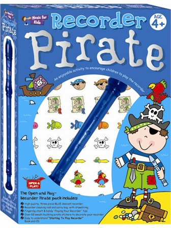 RECORDER PIRATE PACK