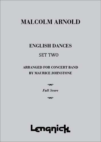 ENGLISH DANCES Set 2 Op.33 (score & parts)