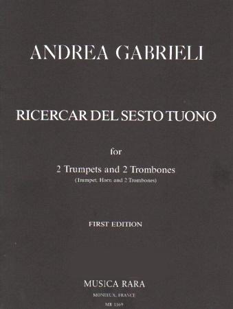 RICERCAR DEL SESTO TUONO (set of parts)