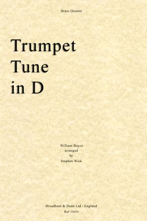 TRUMPET TUNE IN D (score & parts)