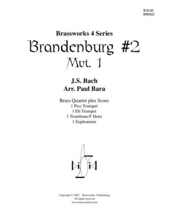 BRANDENBURG CONCERTO No.2, 1st movement