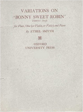 VARIATIONS on Bonny Sweet Robin (Ophelia's Song)