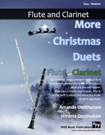 MORE CHRISTMAS DUETS for Flute & Clarinet