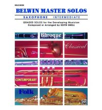 BELWIN MASTER SOLOS Intermediate solo part