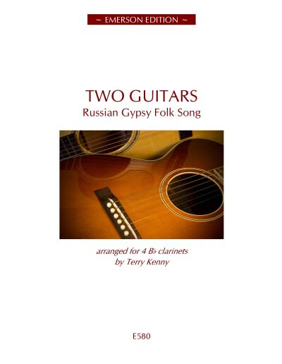 TWO GUITARS (score & parts)