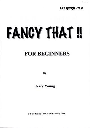 FANCY THAT! 1st horn in F