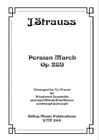 PERSIAN MARCH Op.289