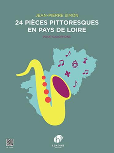 24 PIECES PITTORESQUES EN PAYS DE LOIRE