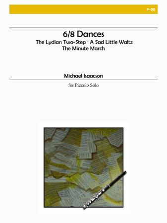 6/8 DANCES FOR SOLO PICCOLO