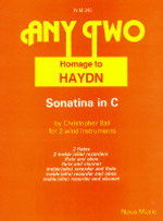 HOMAGE TO HAYDN Sonatina in C