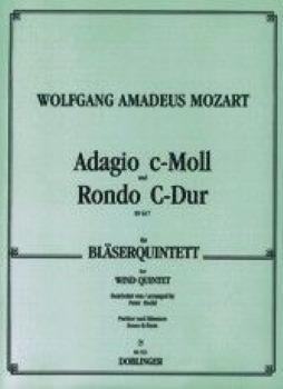 ADAGIO AND RONDO K617 for Glass Harmonica