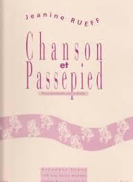 CHANSON ET PASSEPIED Op.16