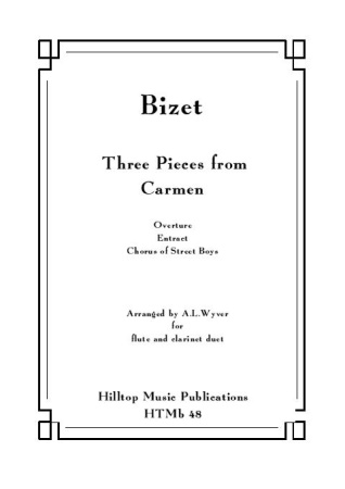 THREE PIECES FROM CARMEN
