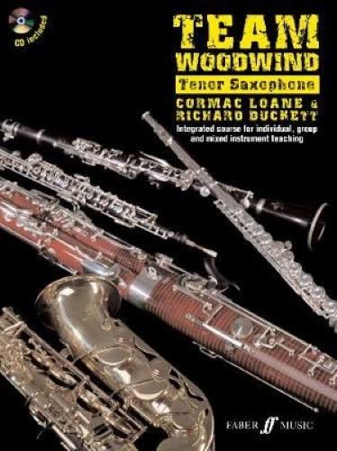 TEAM WOODWIND Saxophone in Bb + CD