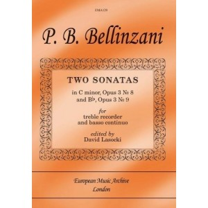 TWO SONATAS Op.3 Nos.8 and 9