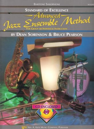 STANDARD OF EXCELLENCE Advanced Jazz Ensemble Method + CD Bari Sax