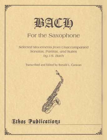 BACH FOR THE SAXOPHONE
