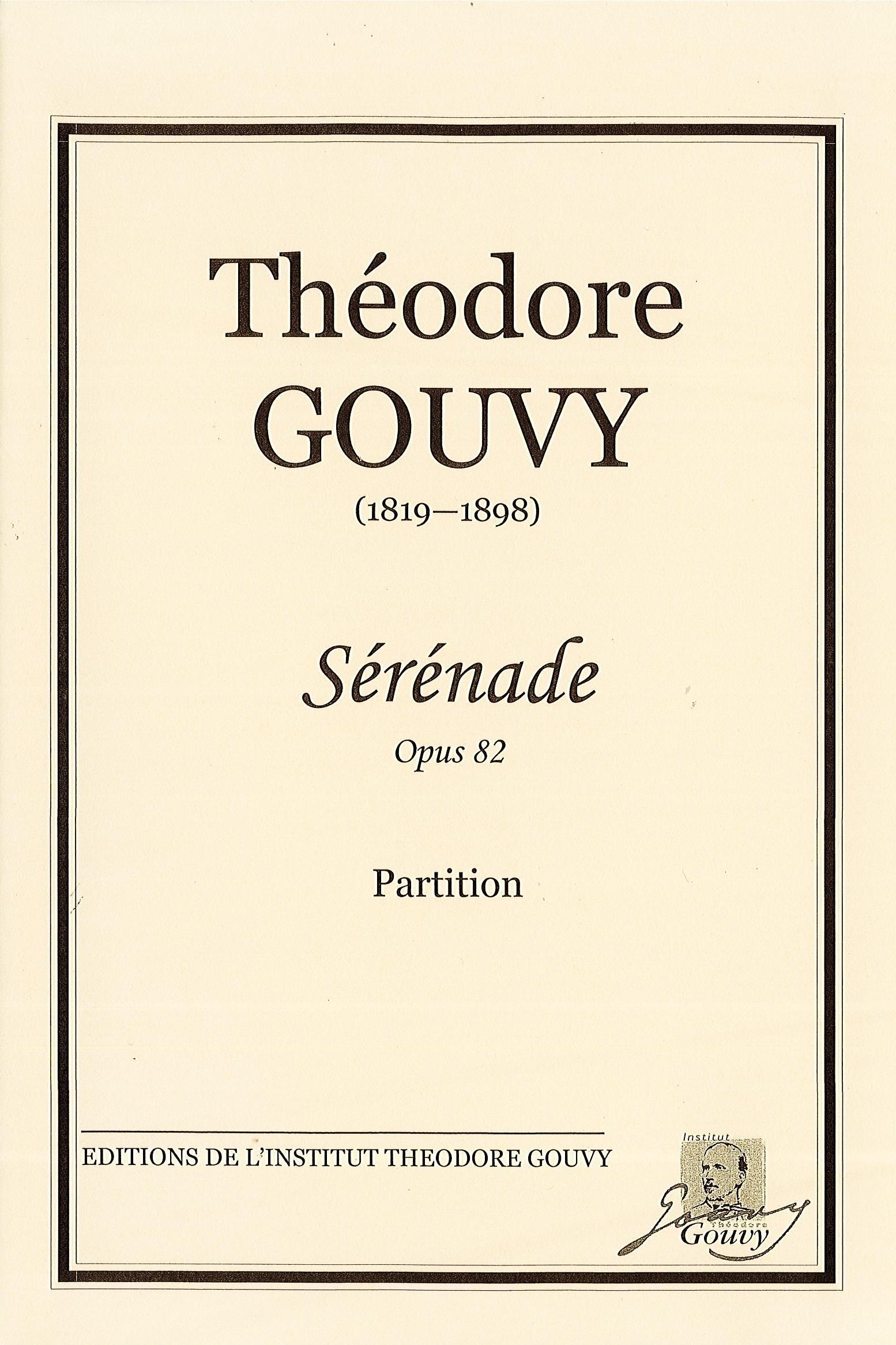 SERENADE Op.82 score & parts