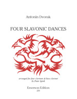 FOUR SLAVONIC DANCES (score & parts)