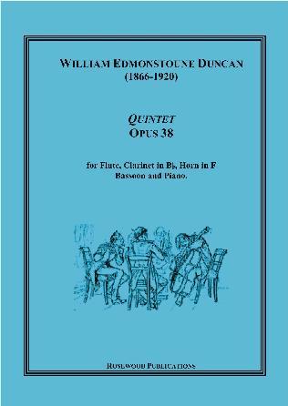 QUINTET Op.38 score & parts